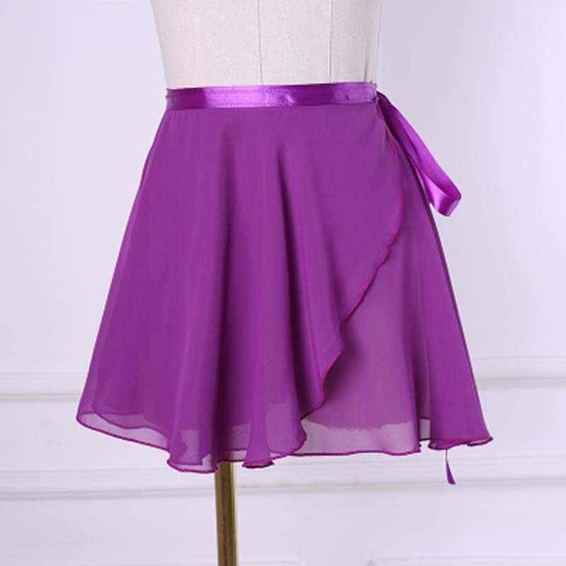 Шифоновая балетная юбка-пачка для танцев, шарф для катания на коньках, Женская гимнастическая шифоновая балетная юбка-пачка для танцев, платье, шарф для скейта