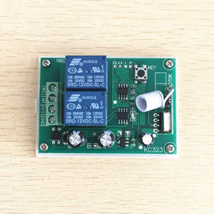 Image 5 - 433Mhz Wireless RF Switch DC12V Relay Receiver Module and 433 Mhz Remote Controls For DC Motor Forward and Reverse Controller