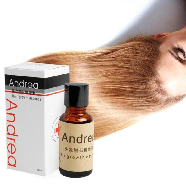 10 sztuk Andrea serum na porost włosów ziołowe keratyny szybki wzrost włosów łysienie utrata cieczy imbir Sunburst Yuda Pilatory oleju tanie i dobre opinie 343523423 CN (pochodzenie) Produkt wypadanie włosów Inhibitor 10pcs 20ml Hair Growth Serum