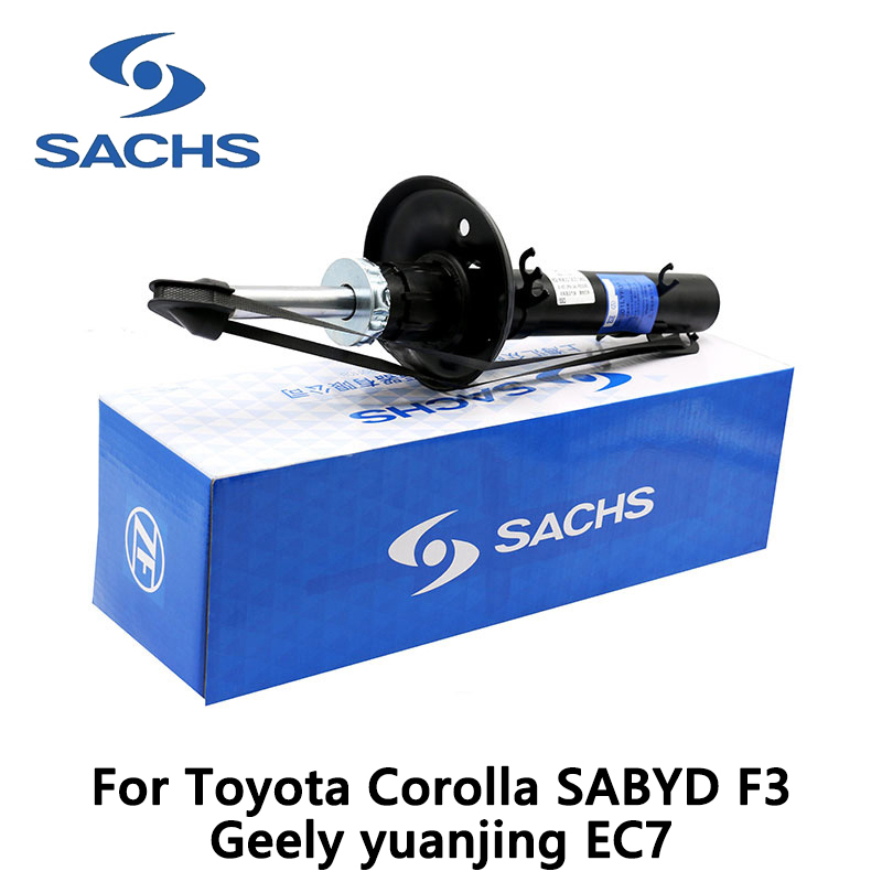 1pieces Sachs Front Right Car Shock Absorber For Toyota Corolla SABYD F3 Geely yuanjing EC7 auto part sachs 3000950728 sachs комплект сцепл kia sorento 2 5cdi