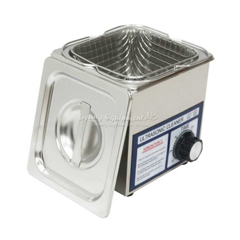 LY-10T 2L Ultrasonic Cleaner Inteligente Mini Óculos Jóias Mais Limpo com a Cesta De Limpeza do Banho de Controle Inteligente