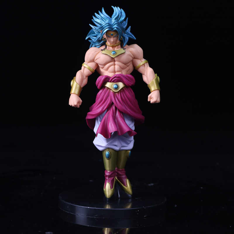 Dragon Ball Z Scultures BIG Modeling Budokai Tenkaichi 7 Broly Figure Collectible Mascot Toys 100% Original