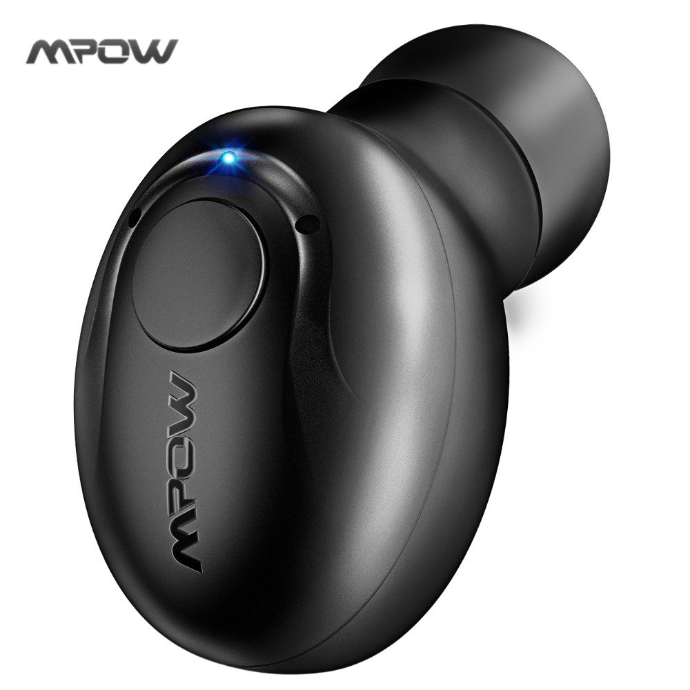 Mpow Stereo Bluetooth Earphone 4.1Wireless Mini Invisible