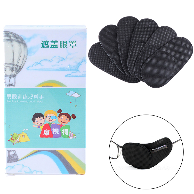 6PCS/1PCS Child Occlusion Medical Lazy Eye Patch For Amblyopia Kids Children 4Styles  Drop Shipping