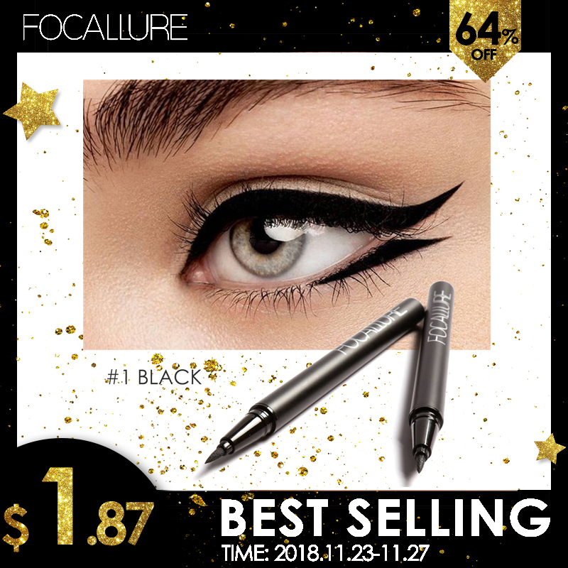 FOCALLURE Professional Liquid Eyeliner Pen Eye Liner Pencil 24 Hours Long Lasting Water Proof by Focallure-in Eyeliner from Beauty & Health on Aliexpress.com | Alibaba Group