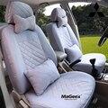 Cubierta de asiento de coche Universal Para Mitsubishi ASX Lancer SPORT EX Zinger FORTIS evo Outlander Grandis negro/gris/del coche accesorios