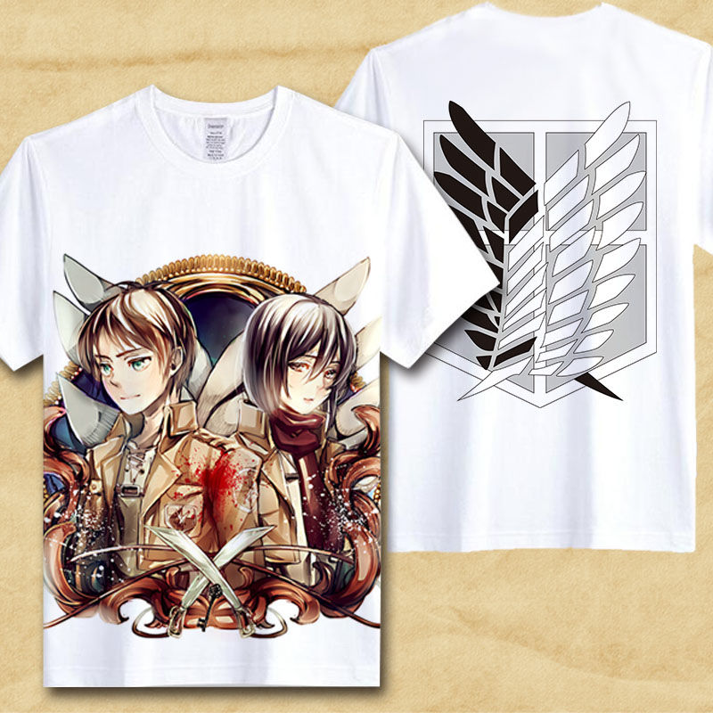 HTB1dOhCPFXXXXcjXVXXq6xXFXXX8 - Japanese Anime T Shirt Men attack on titan shirt boyfriend gift ideas