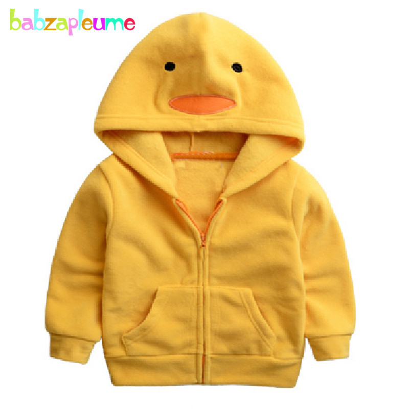 0-5Years/Autumn Winter Baby Boys Girls Jackets Outerwear Soft Fleece - Children's Clothing - Photo 3