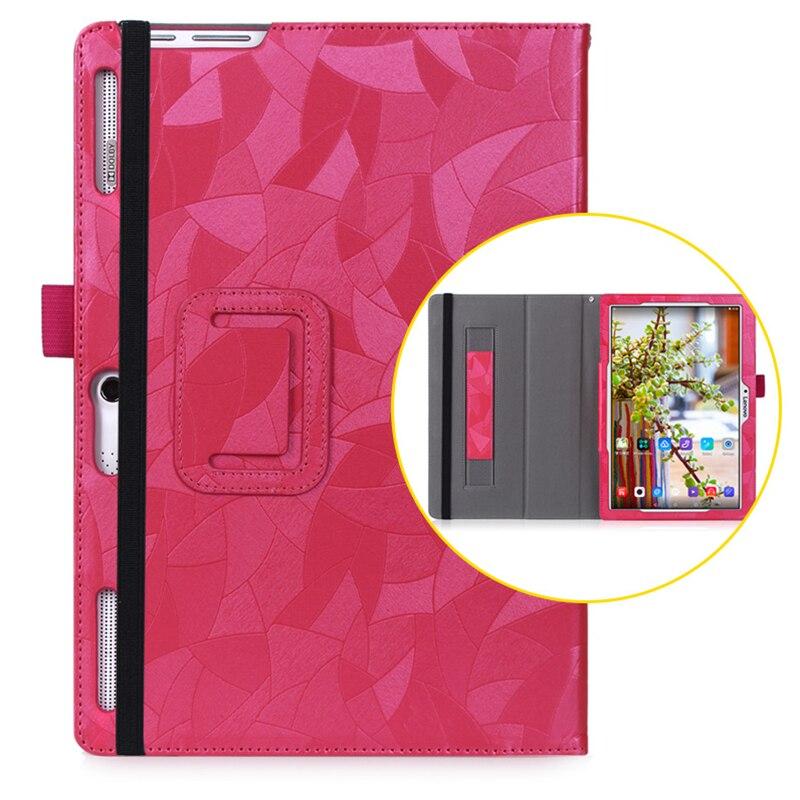 For Lenovo Tab2 A10-70F A10-70L PU Leather Flip Case For Lenovo TB2-X30F Tab2 A10-30 X30F 10.1 Funda Tablet Cover Case+Film+Pen