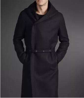 Outerwear Clothing Wool Overcoat Male Winter Men's Casual Plus-Size Fashion HOT Long