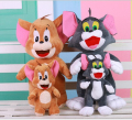 1PCS 30cm  Baby Toys Cat Tom And Jerry Mouse Plush Stuffed Toys Dolls Boneca Pelucia Brinquedos Learning&Education For Kids