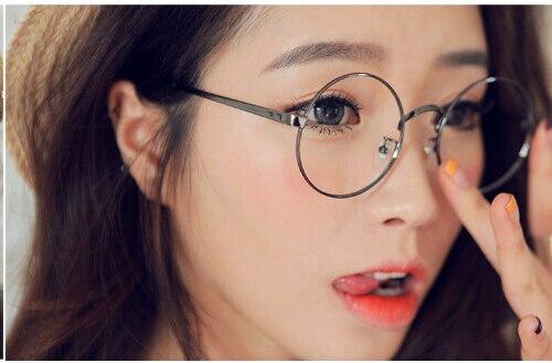 7959fee44370c Harry potter óculos limpar lens rodada mulheres óculos vintage frame ótico  computador quadros homens de óculos oculos de grau femininos em Armações de  ...