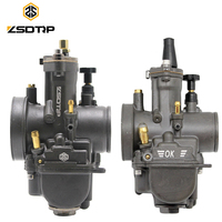 ZSDTRP PWK 28 30 32 34mm Carburetor With Power Jet For Keihin OKO Scooter ATV Quad Honda Motorcycle