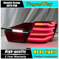 A T Car Styling For Toyota Camry Taillights 2015 New Camry V55 LED Tail Lamp Rear