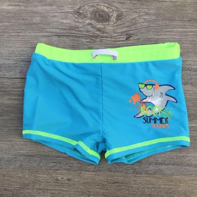 cc7aedd1e0 New Child 2019 Summer Swim Trunks Boys Swimwear Kids Print Shark Bathing  Suits Children Swimming Shorts Boys Beach Swimwears Boy