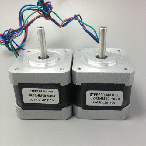 HTB1dOjRKVXXXXauXFXXq6xXFXXXW - Free shipping NEMA17 0.9degree 42BYGHM381 42HM40-0404 42mm 2Phase Hybrid Stepper Motor 12V 0.4A 4-wire 3.4Kg.cm 40mm 3D printer