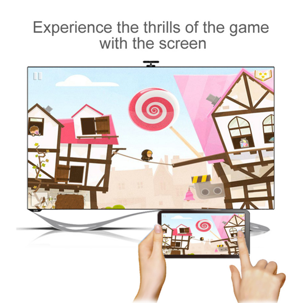 Miracast HDMI WIFI дисплейі DONGLE AIRPlay - Басты аудио және бейне - фото 6