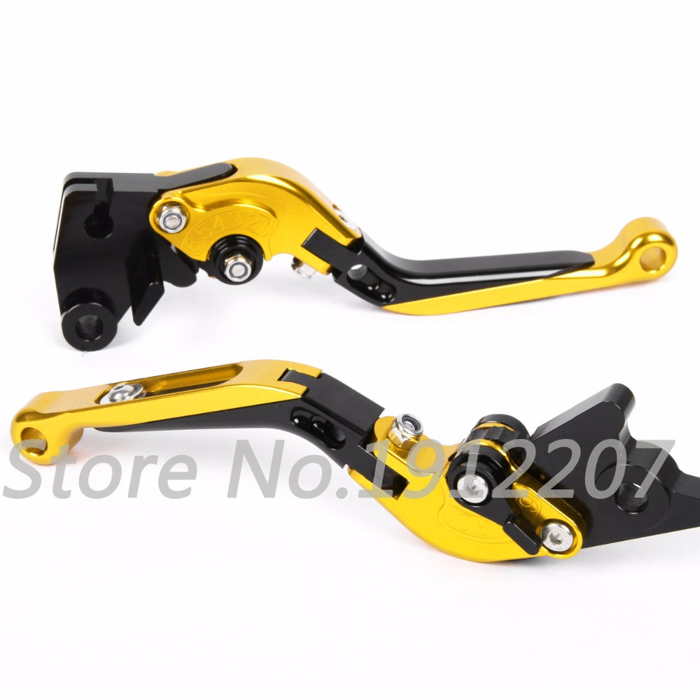 ФОТО For Suzuki GSF 600S BANDIT 1996-2003 Foldable Extendable Brake Clutch Levers Aluminum Alloy CNC Folding&Extending Hot Sell 2002