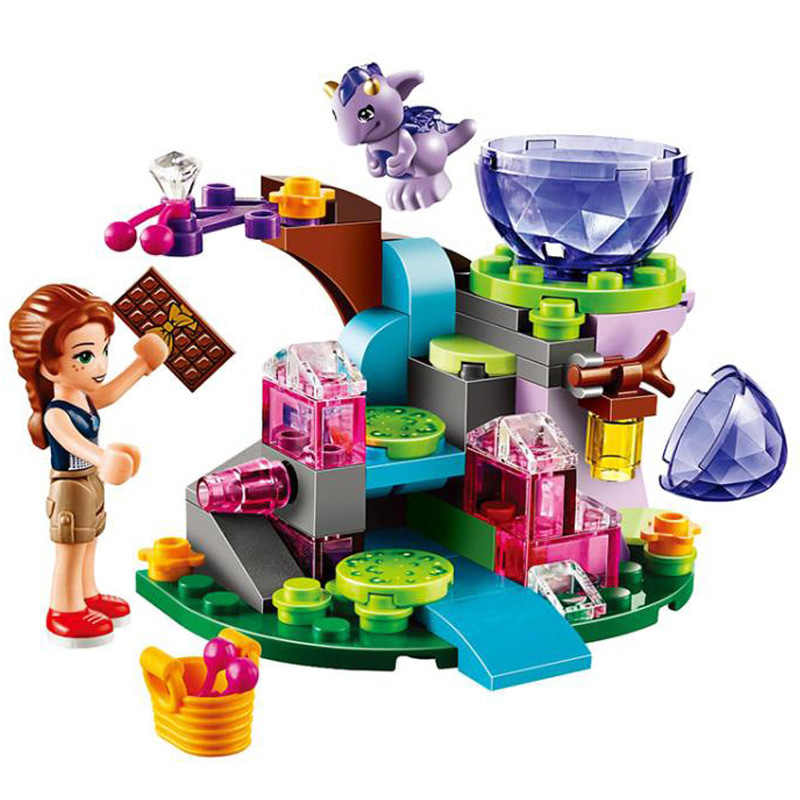 BELA 10499 Fairy Elves Emily Jones And the Baby Wind Dragon Building Blocks Toys for Girl Gift Compatible Elves 41171