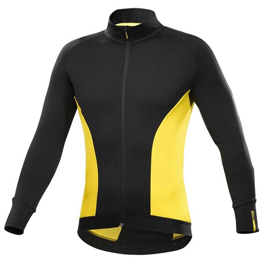 Dropwow 2018 Pro Team Men Wear Mavic Cycling Jersey Clothes Bike ... 505fca6e8