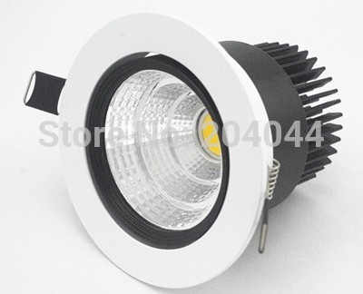 Led Spotlight Direct Selling Time-limited 10pcs Led Spot Free Shipping:warm White Cob Down Light, With 100lm/w High Brightness ...