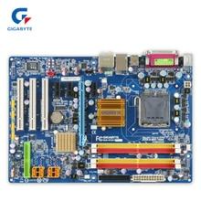 Gigabyte GA-P35-DS3L оригинальный использоваться для настольных ПК P35-DS3L P35 LGA 775 DDR2 8 г SATA2 ATX
