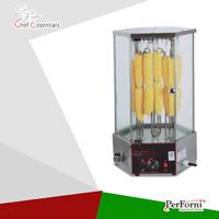 Free Shipping FREE SHIPPING PK JG 18 2 Electric Rotary Corn Roaster For Commercial Products