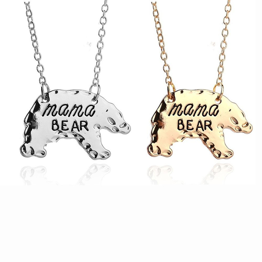 mom girl plated com necklace elephant pendant baby animal jewelry woman for and amazon platinum zircon dp