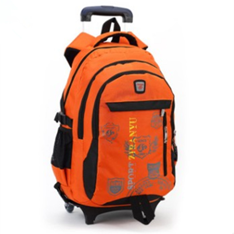 orange rolling backpack Backpack Tools