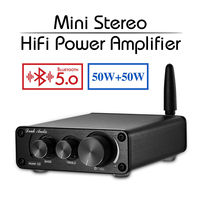 2019 Nobsound Mini TPA3116 Bluetooth 5.0 HiFi Power Amplifier Stereo Home Audio Digital Amp With Treble Bass
