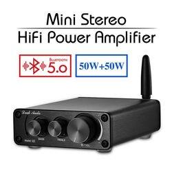 Nobsound último Mini TPA3116 Bluetooth 5,0 HiFi AMPLIFICADOR DE POTENCIA ESTÉREO casa amplificador de Audio con agudos bajo
