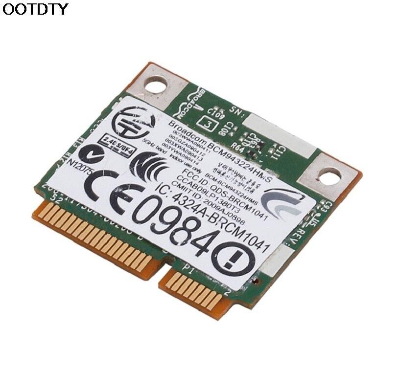 DW1520 Dual Band Wireless AGN Half MINI PCI-E BCM943224HMS WIFI Card For DELL