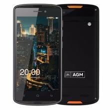 Оригинал AGM X1 мини IP68 Водонепроницаемый 4 г мобильный телефон прочный 5.0 «HD 2 ГБ Оперативная память 16 ГБ Встроенная память Android 6.0 Qualcomm 4 ядра 4000 мАч GPS