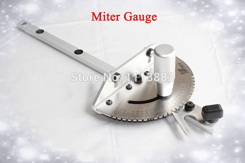 Miter Gauge For Table Saw/Router Table, Brass/Aluminum Handle For You To Choose