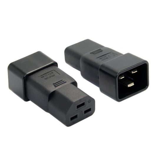 IEC 320 IEC320 C21 C19 to C20 power plug PDU UPS Extension server 16A Male to Female Power Adapter connector Rated 10A 250V