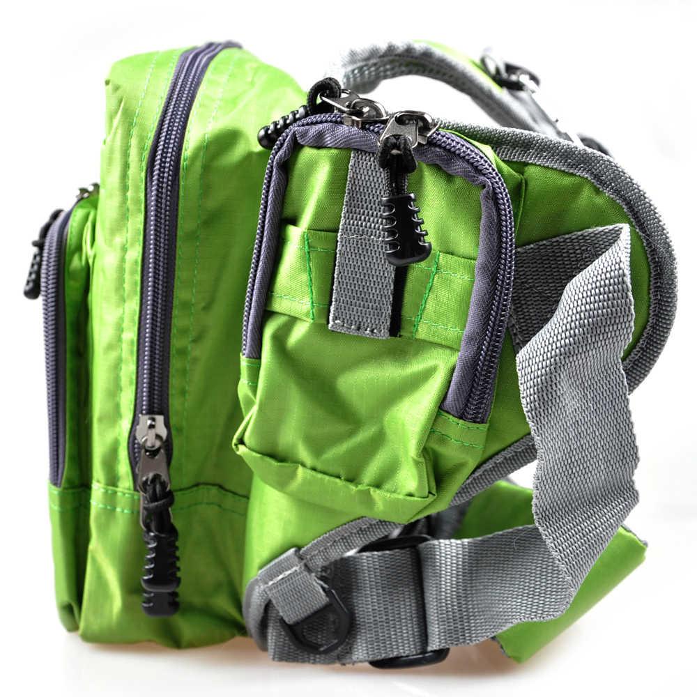 ILURE 32 см * 39 см * 12 см многоцелевая зеленая Рыболовная Сумка iLure открытый рюкзак рыболовные сумки Рыболовная катушка снасти приманпосылка пояс