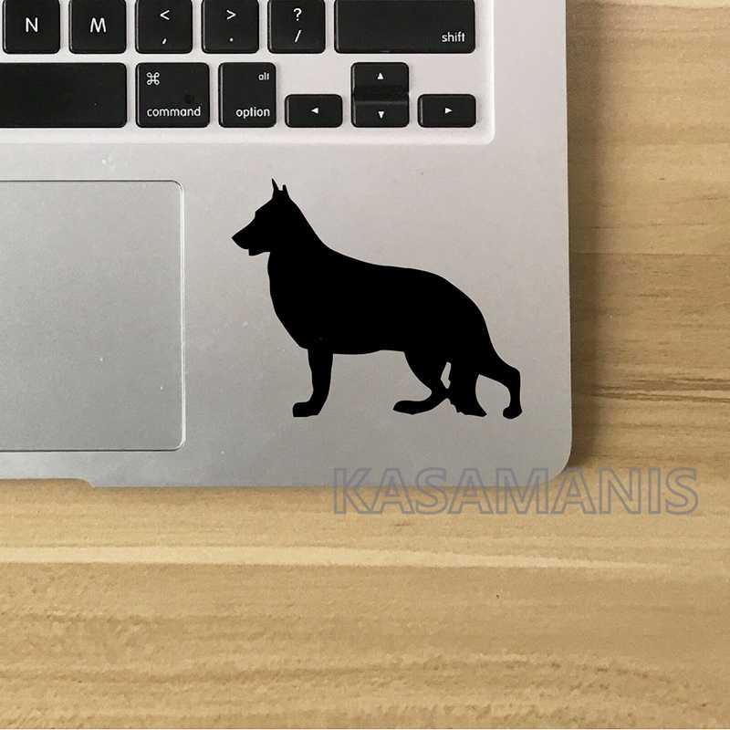 Немецкая овчарка, художественная наклейка, декор для ноутбука, персональный домашний питомец, собака, немецкий Шефер, Виниловая наклейка для автомобиля, украшение для ноутбука