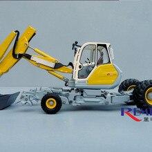 Изысканный сплав модель ROS 1:50 Menzi Muck A91 4X4 многоцелевой ходить литой экскаватор игрушка модель для коллекции украшения
