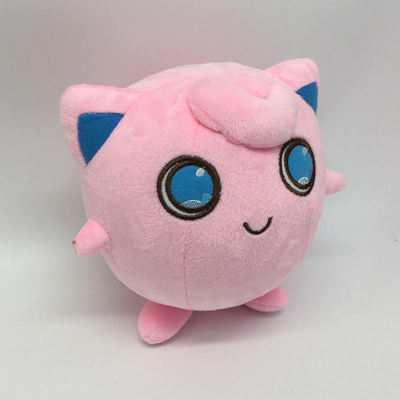 Kawaii Anime Jigglypuff Lodra prej pelushi Karakteri vizatimor Karakteristikat e butë prej pelushi dhe kafshët e mbushura Kukull për Foshnje Cute Toyggppuff Lodra Fëmijët Dhurata