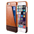 For Apple iPhone 6 / 6s Case Back Cover Benuo Genuine Leather 1 Card Slot Ultra Slim Genuine Leather Case For iPhone 6 6s