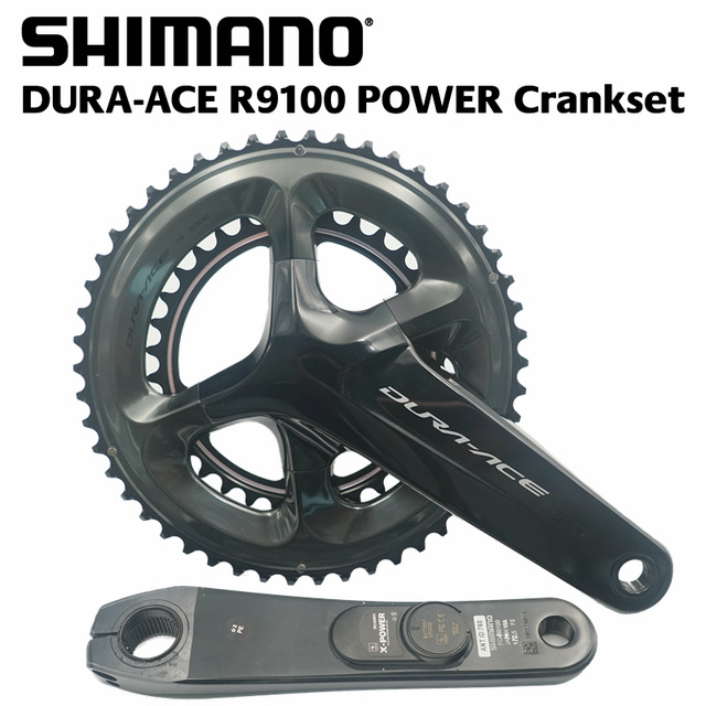 SHIMANO DURA-ACE R9100 POWER Crankset XCADEY X-POWER METER Crank 172.5mm Crankset 52-36T 50-34T кассета shimano dura ace 11 30 11 ск