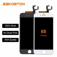 Hot Sale Grade AAA Quality Front LCD Screen Display For iPhone 6s With Touch Screen Digitizer Assembly Replacement Bran