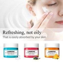 LANBENA уход за кожей глаз крем отбеливающий крем увлажненитель с гиалуроновой кислотой против морщин и старения Витамин С уменьшает темные круги