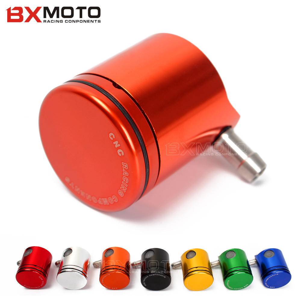 Motorcycle Universal Aluminium CNC Front brake reservoir Front Brake Clutch Oil Cup For Honda Yamaha Ducati Suzuki cnc universal motorcycle fluid reservoir clutch tank rear front brake oil cup for yamaha r6 r1 r3 fz6 mt 07 mt07 mt 07 fz1