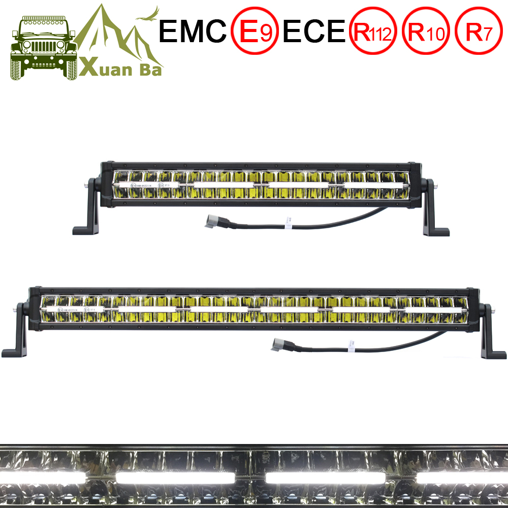 22 Inch 120W 32 Inch 180W Offroad Led Light Bar Work Lights For Car 12V 24V Tractor Trucks Beams 4x4 Niva Driving Position Lamp