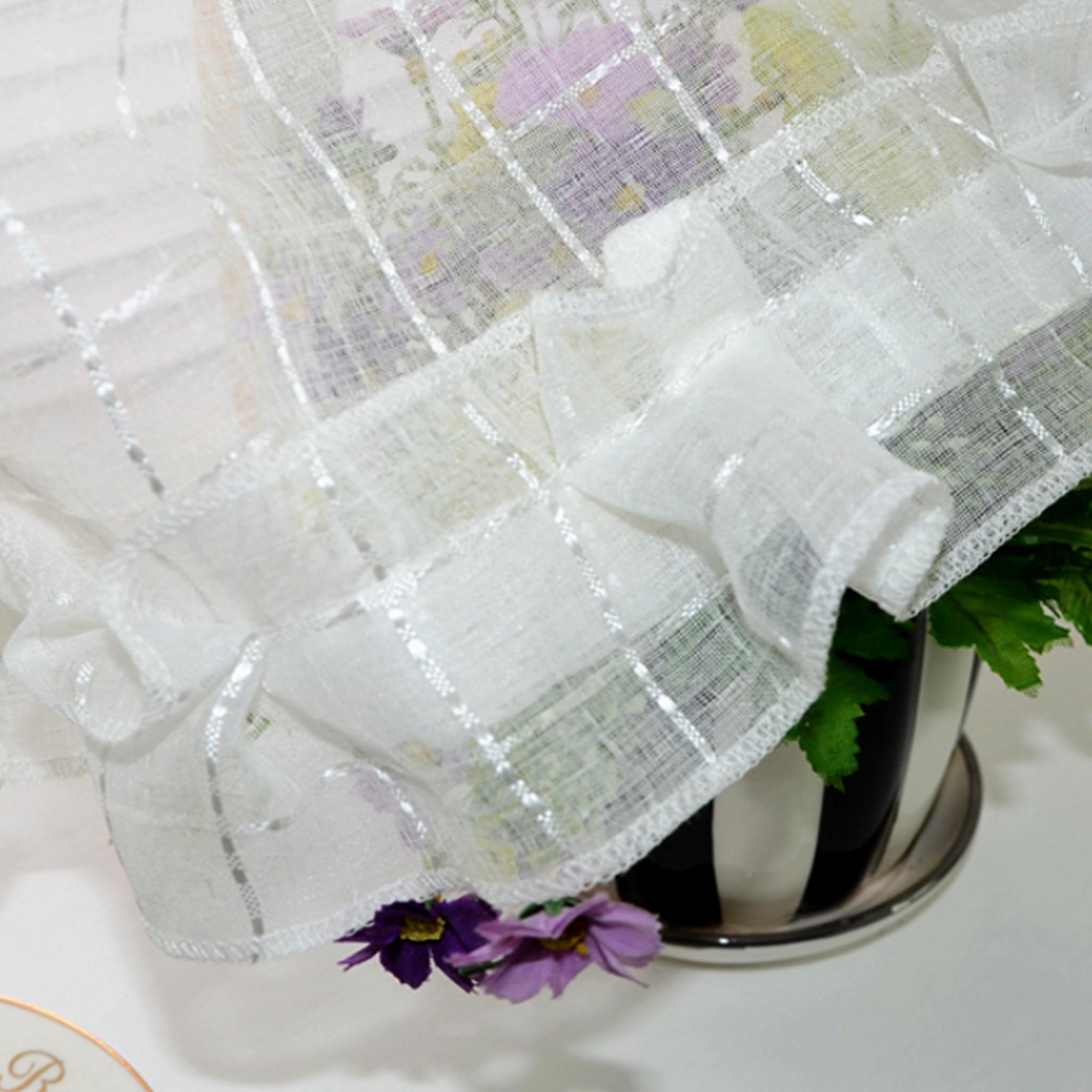 Fenster Vorhang Halb Vorhang Solide Spitze Dekoration Für Küche ...