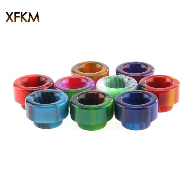 1PC XFKM 810 Drip Tips Epoxy Resin Wide Bore Mouthpiece for TFV8 Kennedy24 Goon 528 RDA RTA Tank E Cigarettes Atomizers Electronic Cigarette Accessories