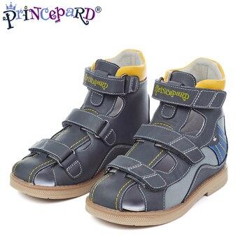 c70675df5 Princepard 2019 ortopédicas nuevas sandalias para niños zapatos de bebé  genuie la parte superior de cuero + ortopédicos plantillas tamaño europeo  20-36