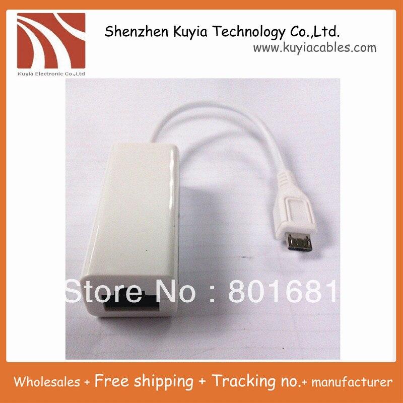 10 шт.! Бесплатная доставка + Высокое Качество Micro Mini USB 2.0 для RJ45 Ethernet LAN Сети RJ45 Адаптер, External Connector для планшетных пк