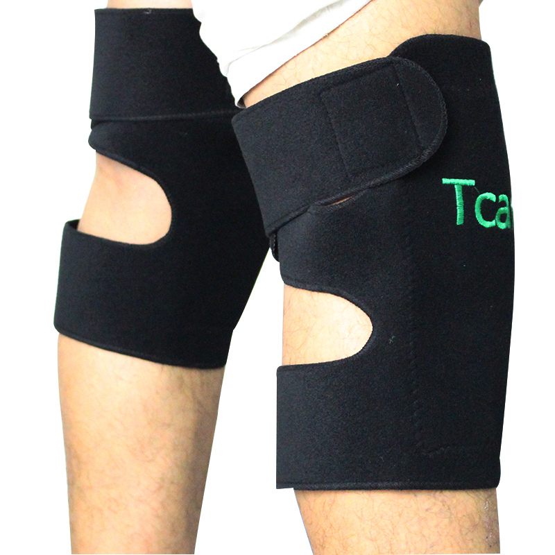 1 Pair Tcare Tourmaline Self Heating Kneepad Health Care Magnetic Therapy Massage Knee Support Knee Pads